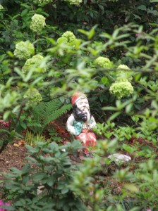...as Ralph, my wise old gnome, oversees it all with happiness.