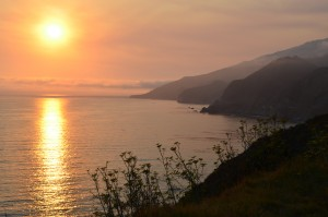 Sunset, Big Sur, CA